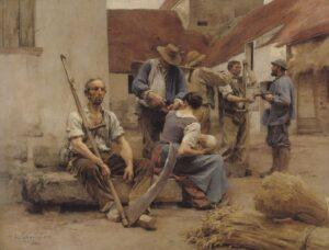 1882 収穫者への支払い